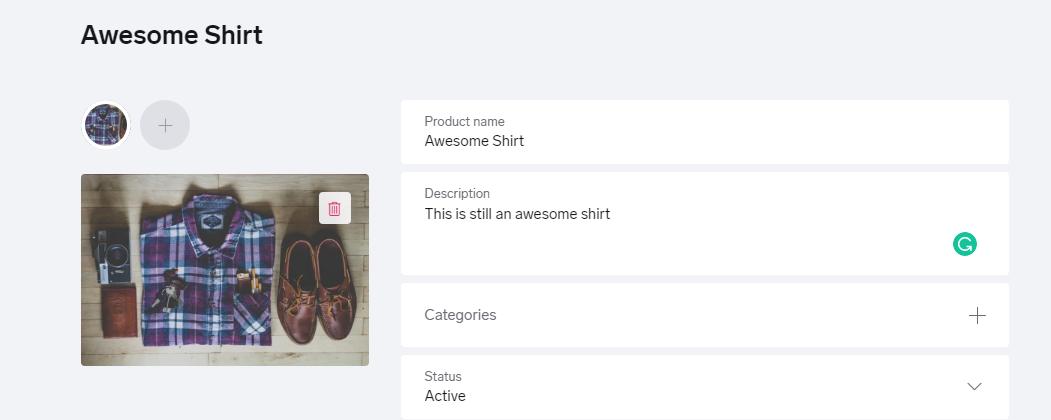 awesome shirt shopify