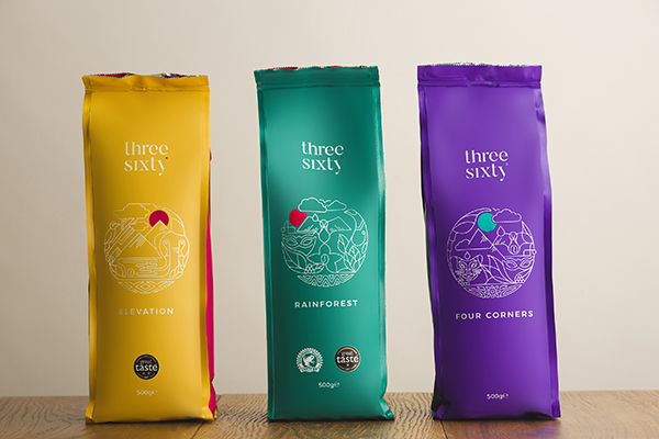 Threesixty coffee range