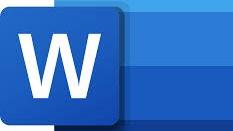 Représentation de la formation : Microsoft Word