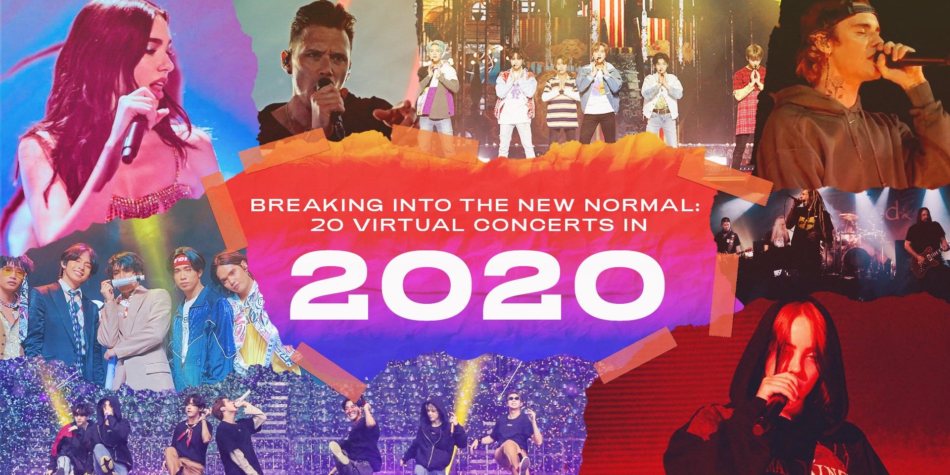 Breaking into the new normal: 20 virtual concerts in 2020