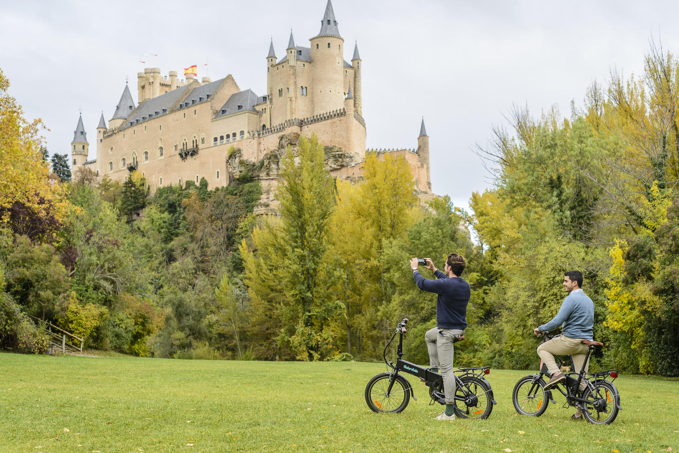 Segovia Day Trip from Madrid with e-Bike Experience