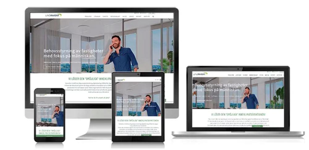 Lindinvent avslutar stiligt året med att lansera den nya responsiva hemsidan.