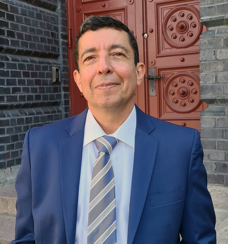 Fernando Ruiz-Jasbon, överläkare kirurgi Hallands sjukhus Kungsbacka.