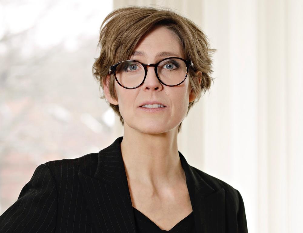 Svenska Tecknares ordförande Josefine Engström Foto: Eva Edsjö