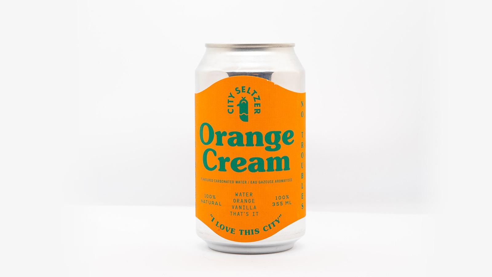 City Seltzer Orange Cream