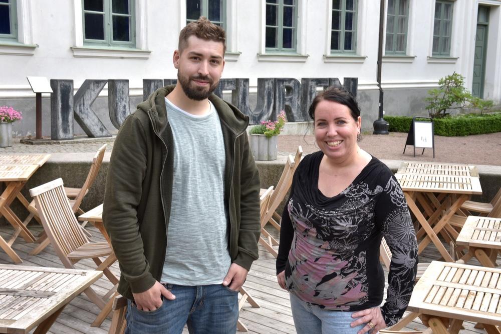 Daniel Lundström och Diana Jurvanen från Matstudio Kungsmarken kommer att driva Kulturens restaurang som en pop up under perioden 15 juli till 15 september 2020. Foto: Nelly Hercberg, Kulturen.