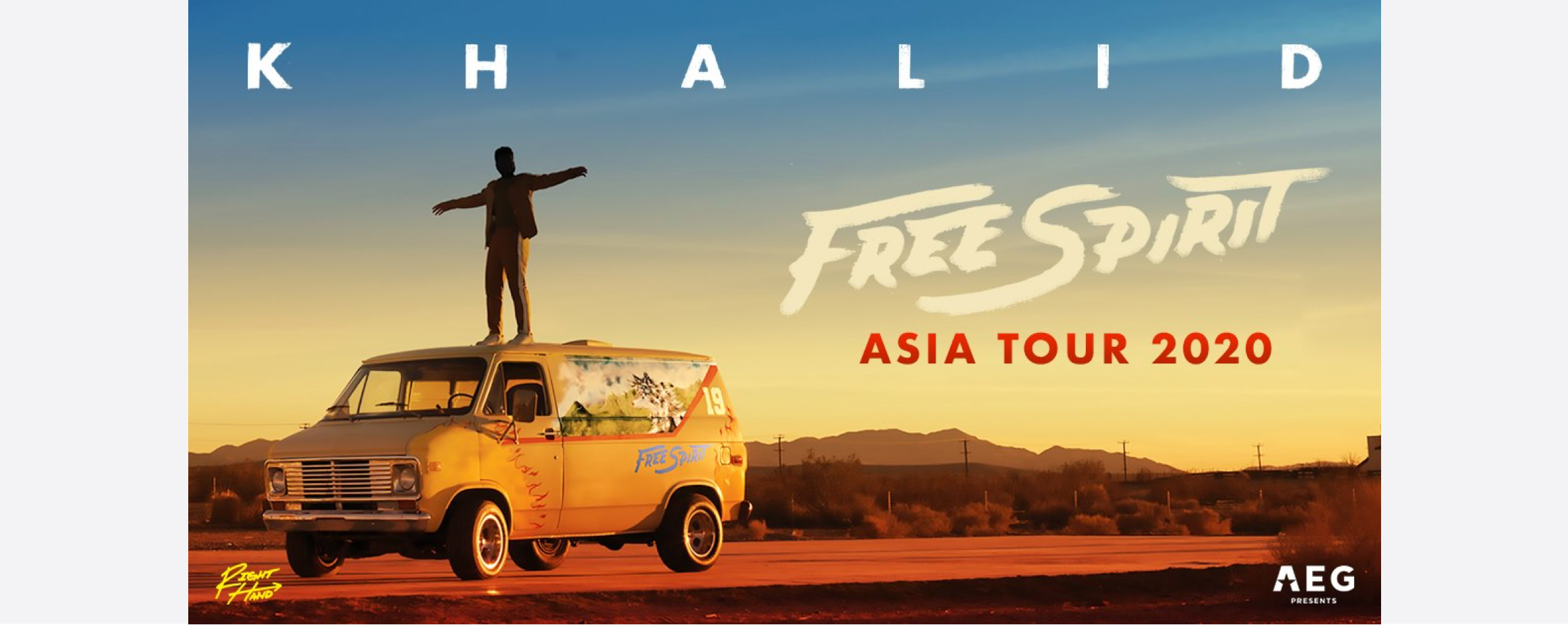 [POSTPONED] Khalid Free Spirit World Tour 2020 Singapore