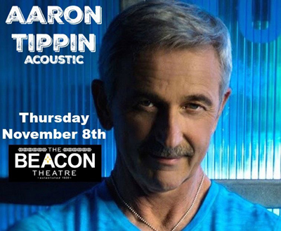 BT- AARON TIPPIN (Acoustic), November 8, 2018, doors open 6:30pm