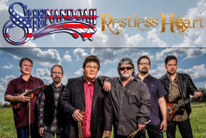 The Groove Music Hall - Shenandoah with Restless Heart - August 24, 2019, doors 5:00pm