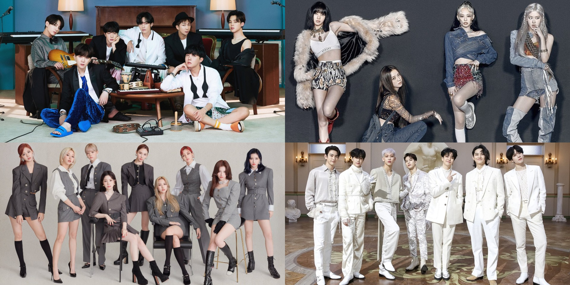 Nominees for 2020 APAN Music Awards revealed – BTS, BLACKPINK, TWICE, GOT7, and more