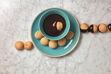 callebaut dough balls