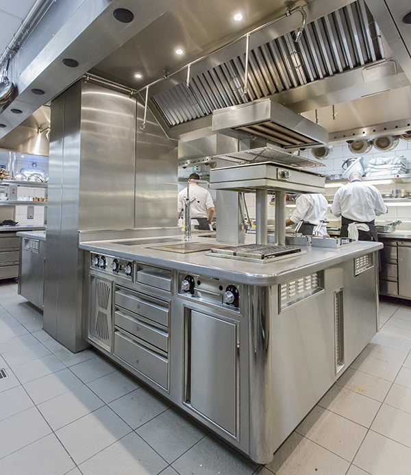 The Athanor suite and salamander grill