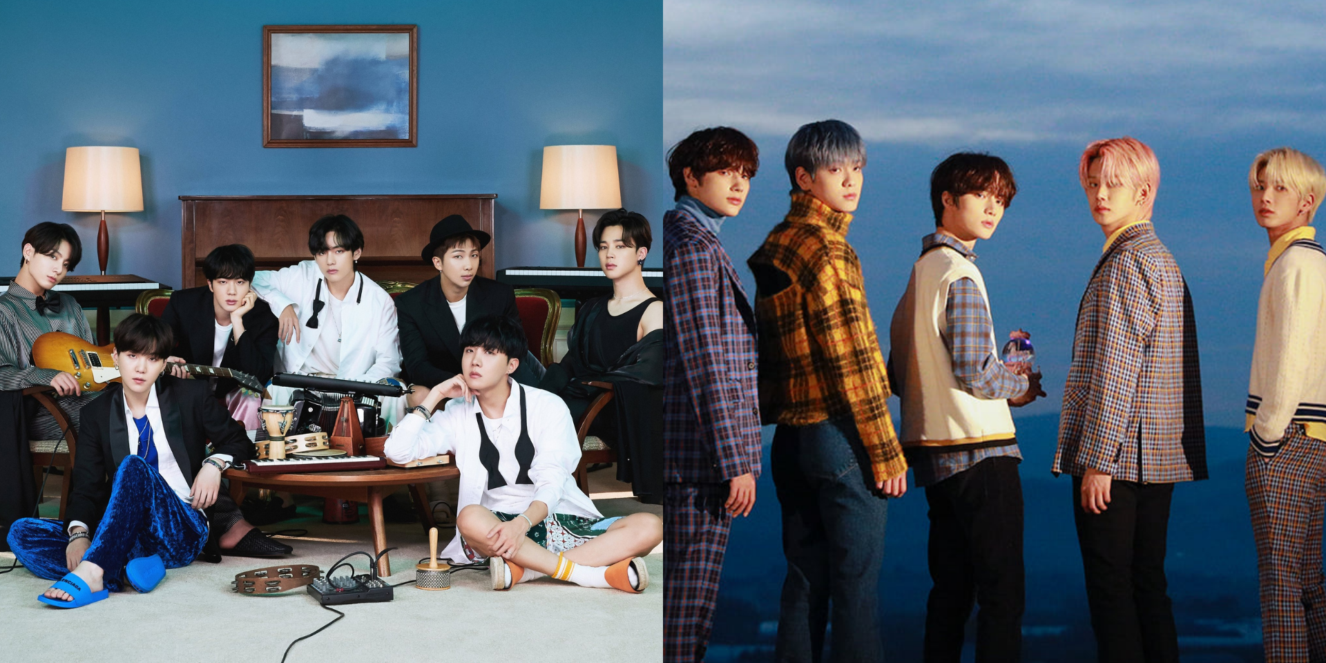 New mobile game 'Rhythm Hive' featuring BTS and TOMORROW X TOGETHER set to be released in 2021