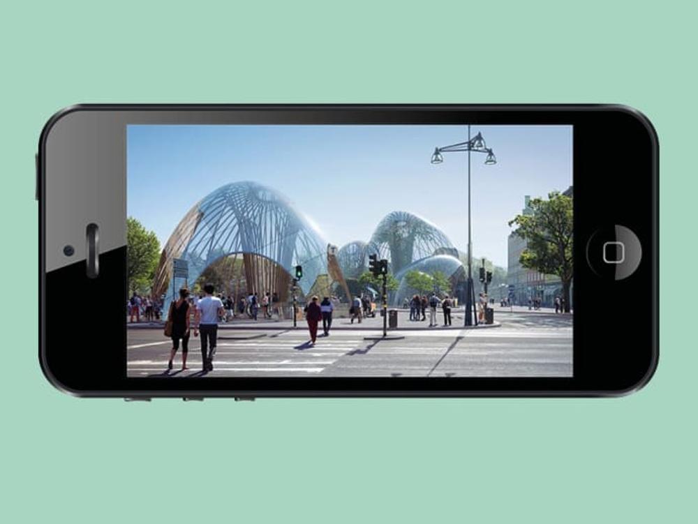 Augmented dialogue. Utopia Arkitekter och Doberman. Ett av fem projekt som finansieras via ArkDes Think Tank.