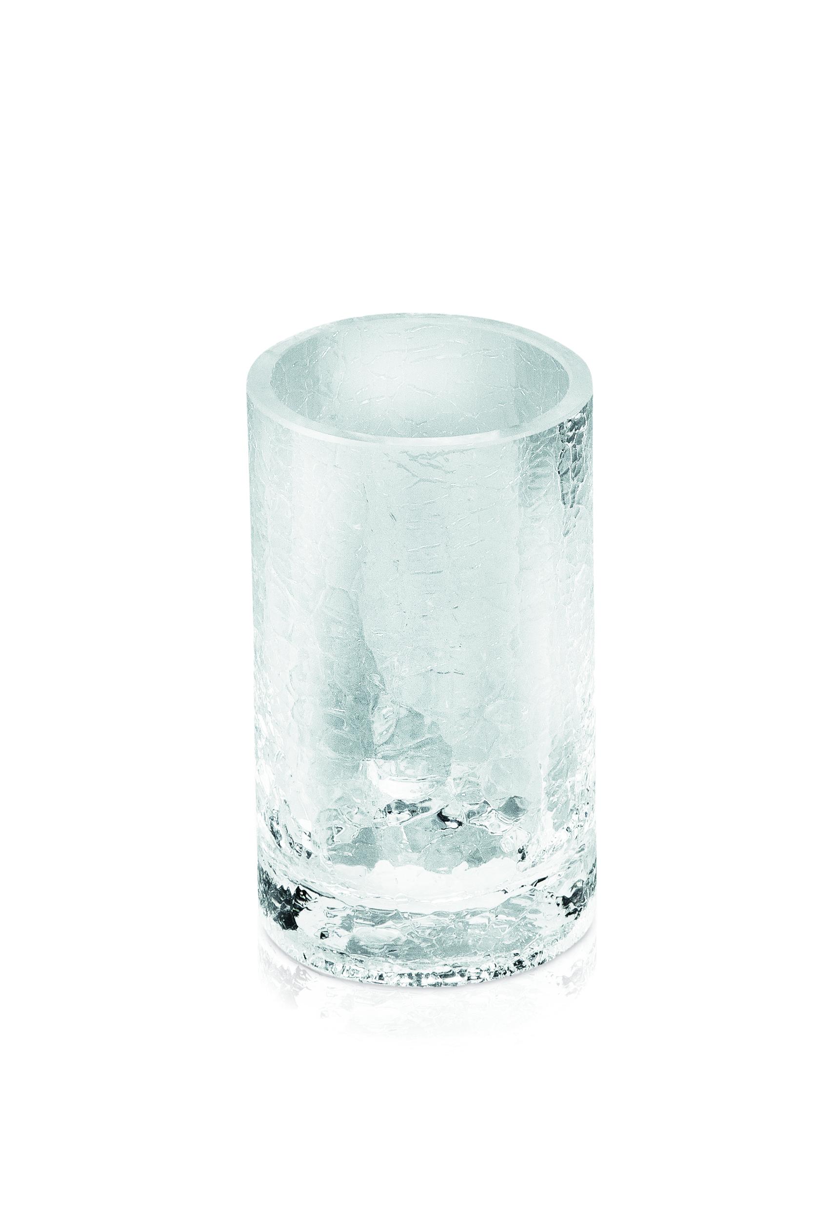Glass Tannbørsteholder