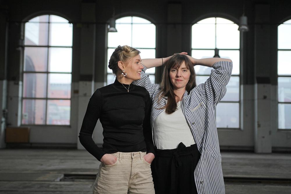 Kajsa Willner och Karin Olu Lindgård