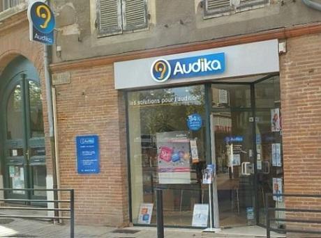 Photo du centre Audika de Gaillac