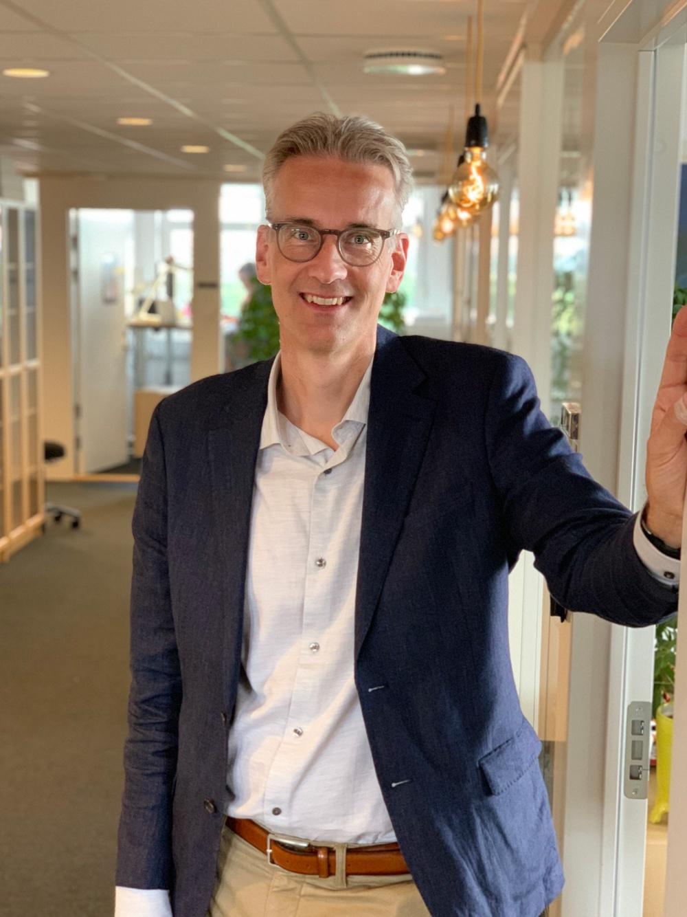 Fredrik Lomäng, Bildupphovsrätts VD Foto: Emma Grip