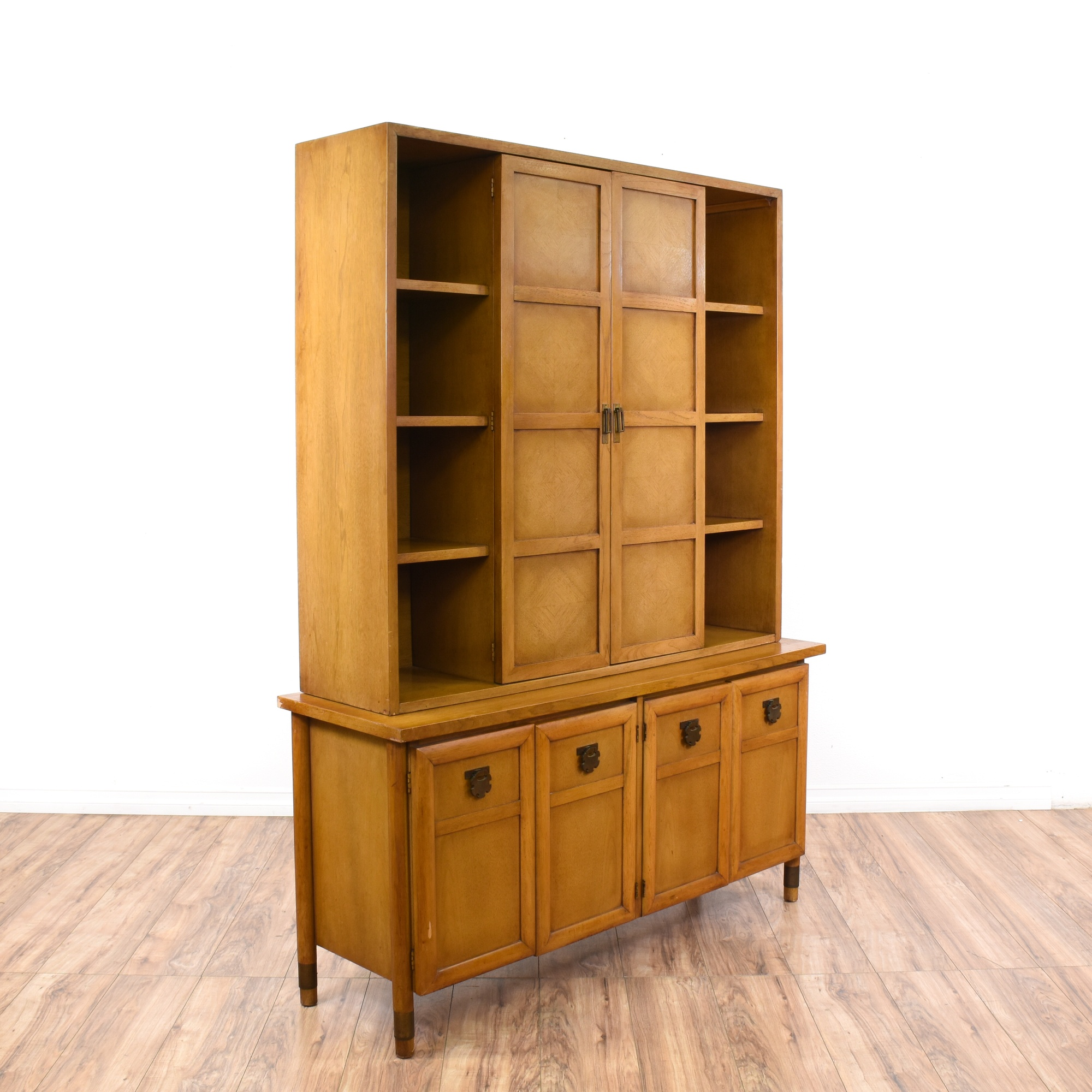 Mid Century Modern Kitchens Cabinets: Mid Century Modern Display Cabinet Bookcase