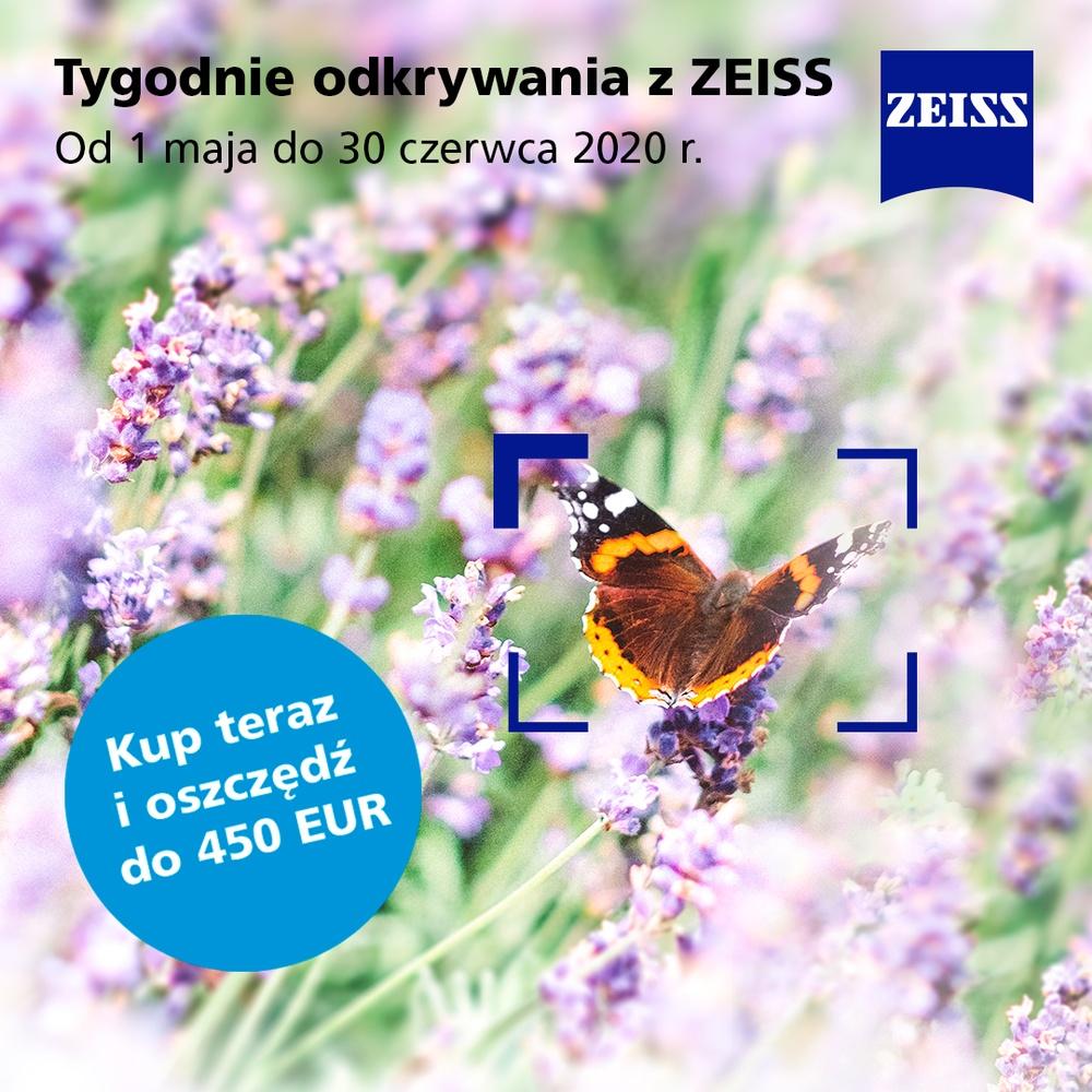ZEISS rusza z wiosenną promocją Cash Back.  Za zakup obiektywu można otrzymać do 450 EUR!