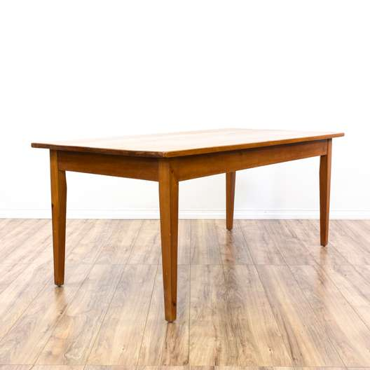 Simple Pine Country Chic Dining Table