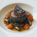 Slow-roasted fillet of Scotch beef