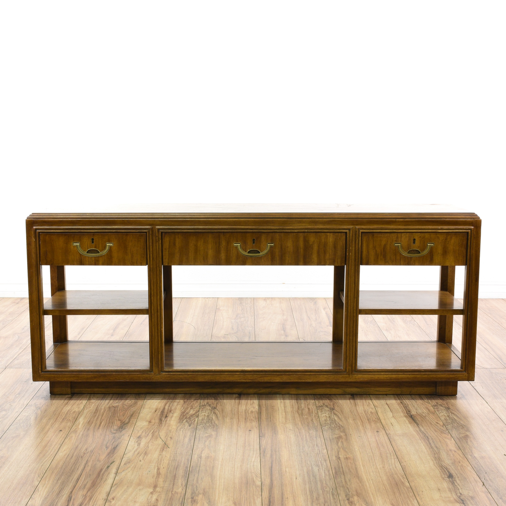 Quot Drexel Accolade Quot Campaign Console Table Sideboard
