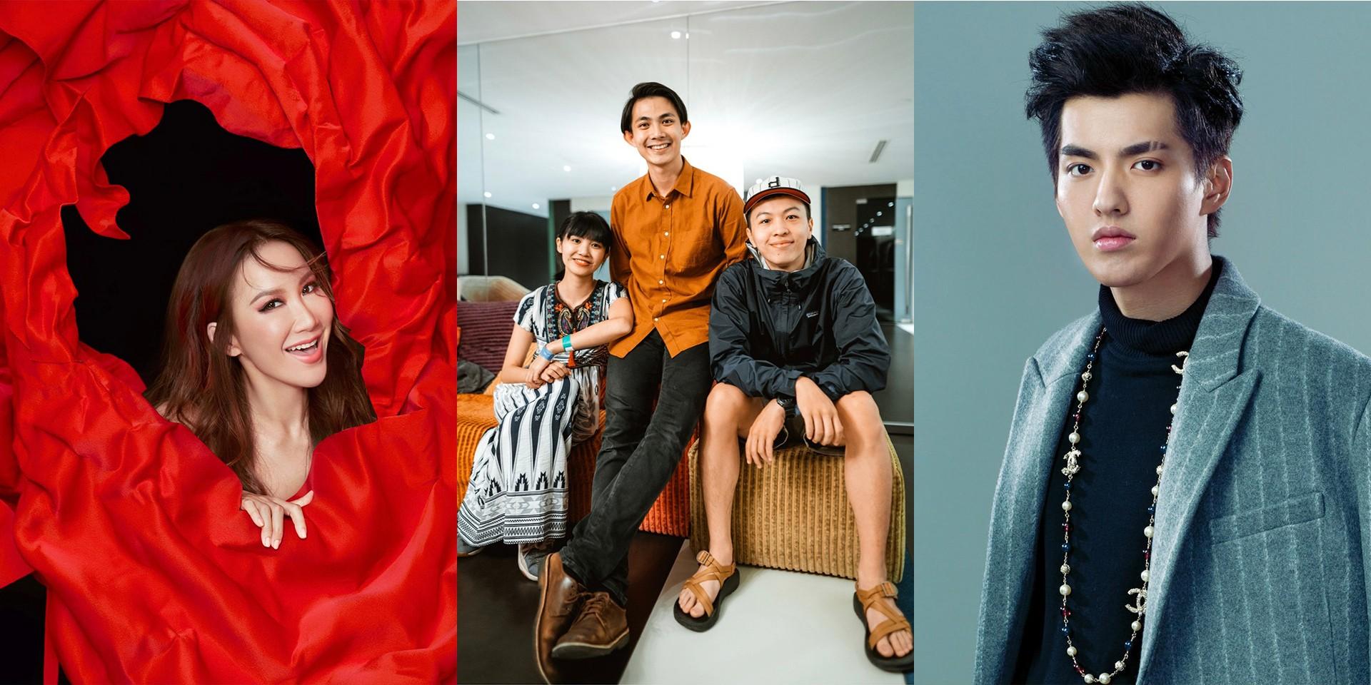 李玟、大象体操、吴亦凡:上两周哪些歌手发行了新歌
