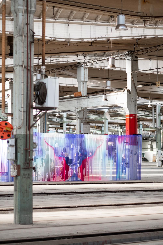 Studiodesign: Malmöbaserade Rumrum och schweiziska textilföretaget ZigZagZurich.  Möbler: Blå Station.