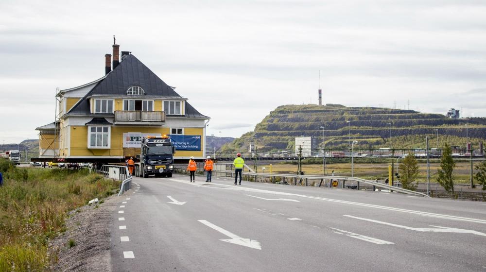 Husflytt Kiruna. Cred:Jessica Nildén