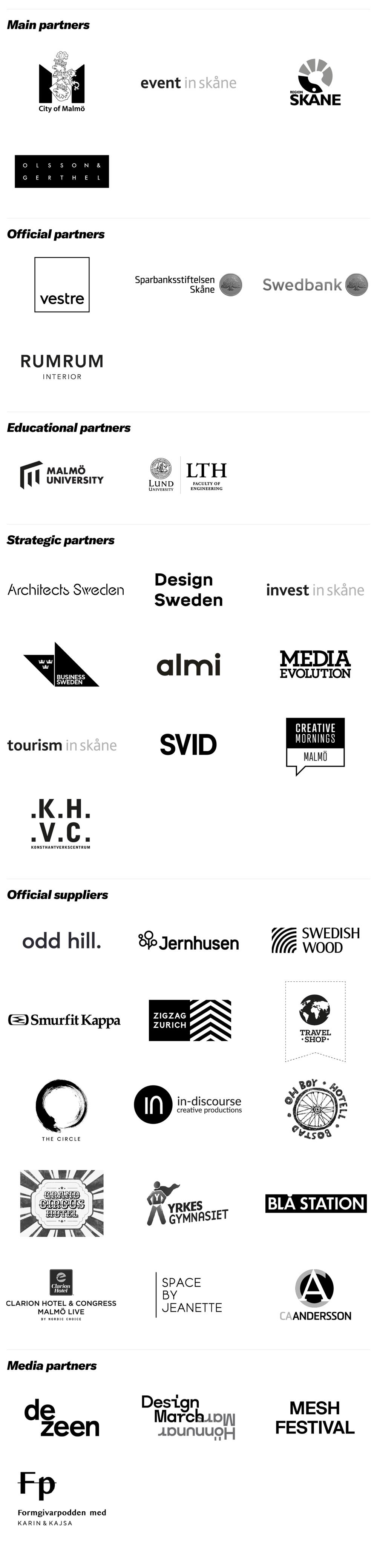 SSDD 2021 partners