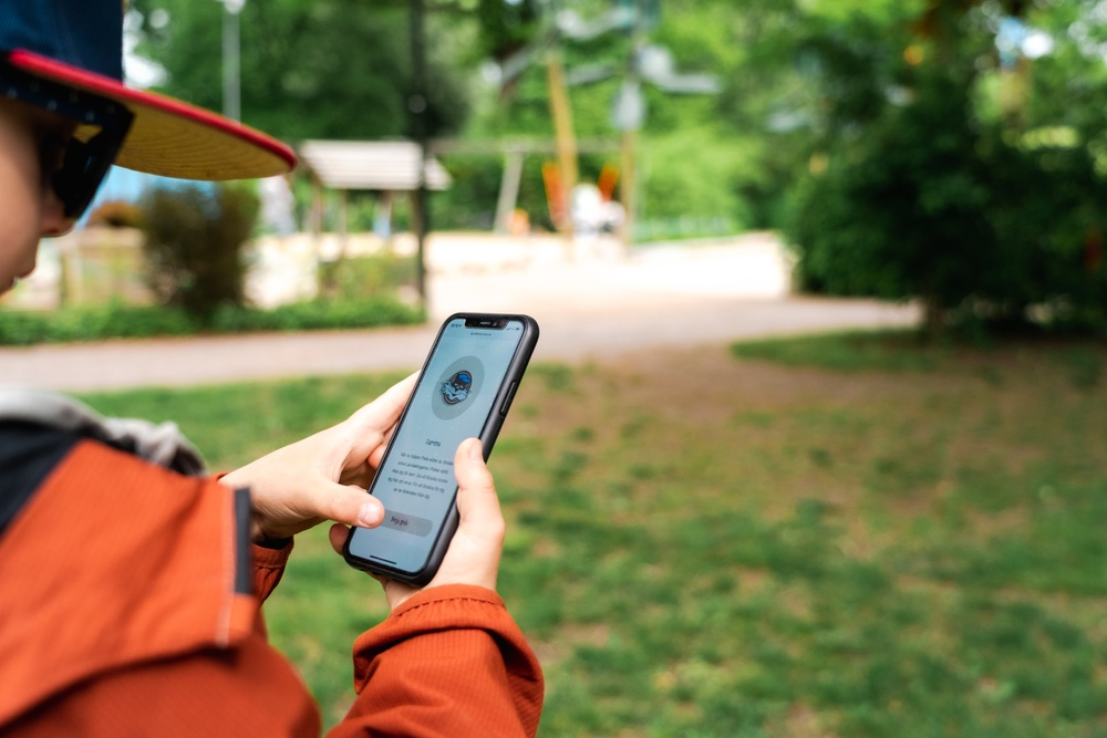 I helgen lanseras Pelles Äventyr, en digital spelupplevelse i Uppsala. Fotograf: Gustav Dalesjö