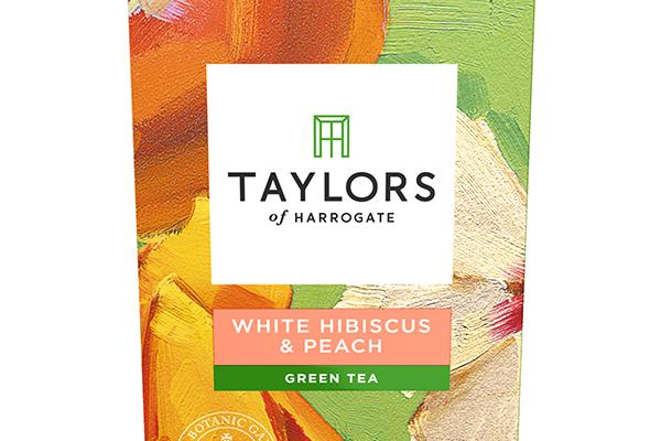 Taylors of Harrogate white hibiscus and peach tea