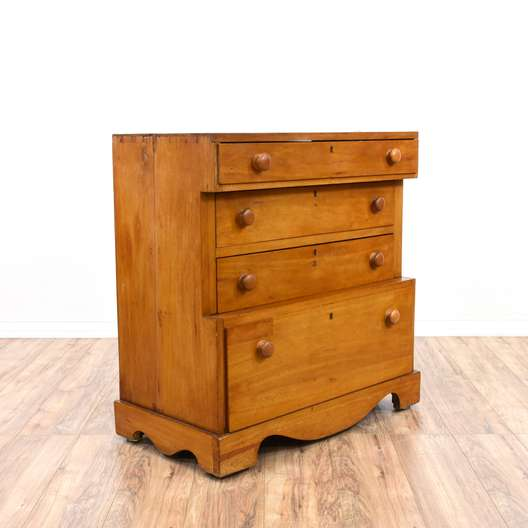 Early American Maple Chest of Drawers