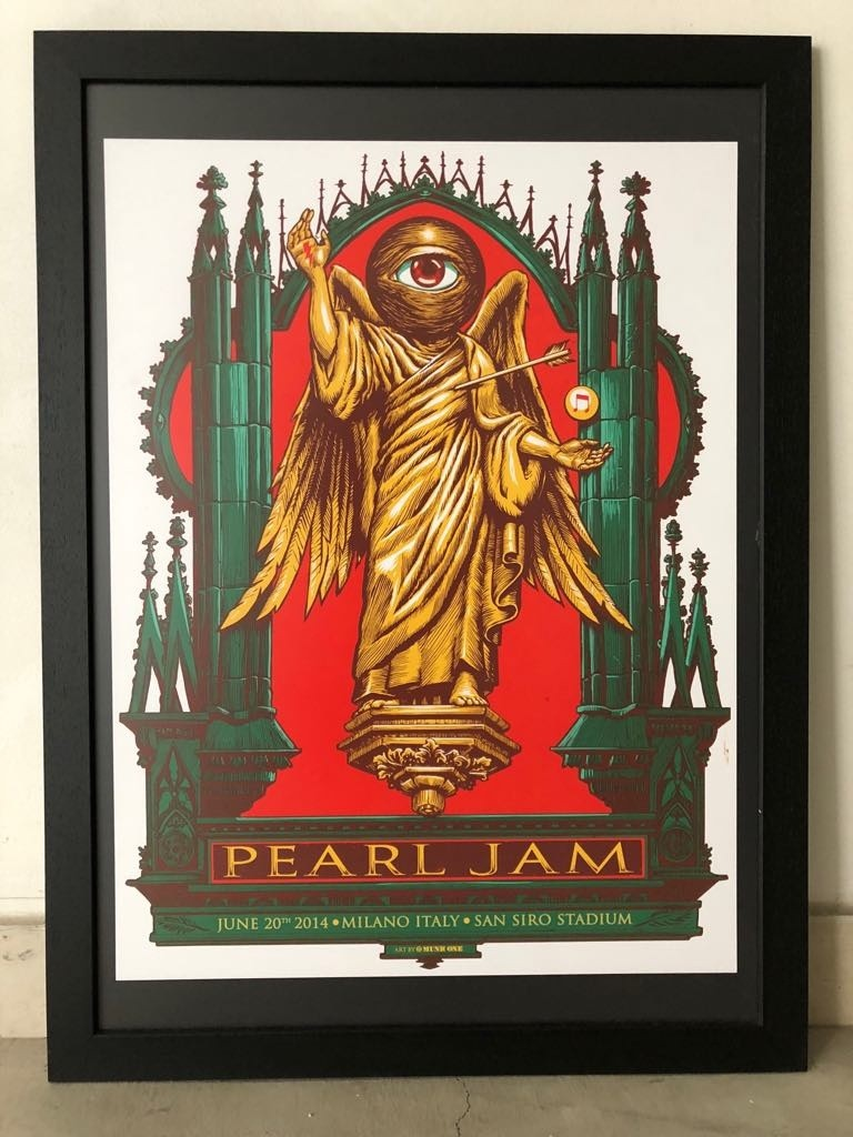 Pearl Jam Milano 2014 Collectionzz