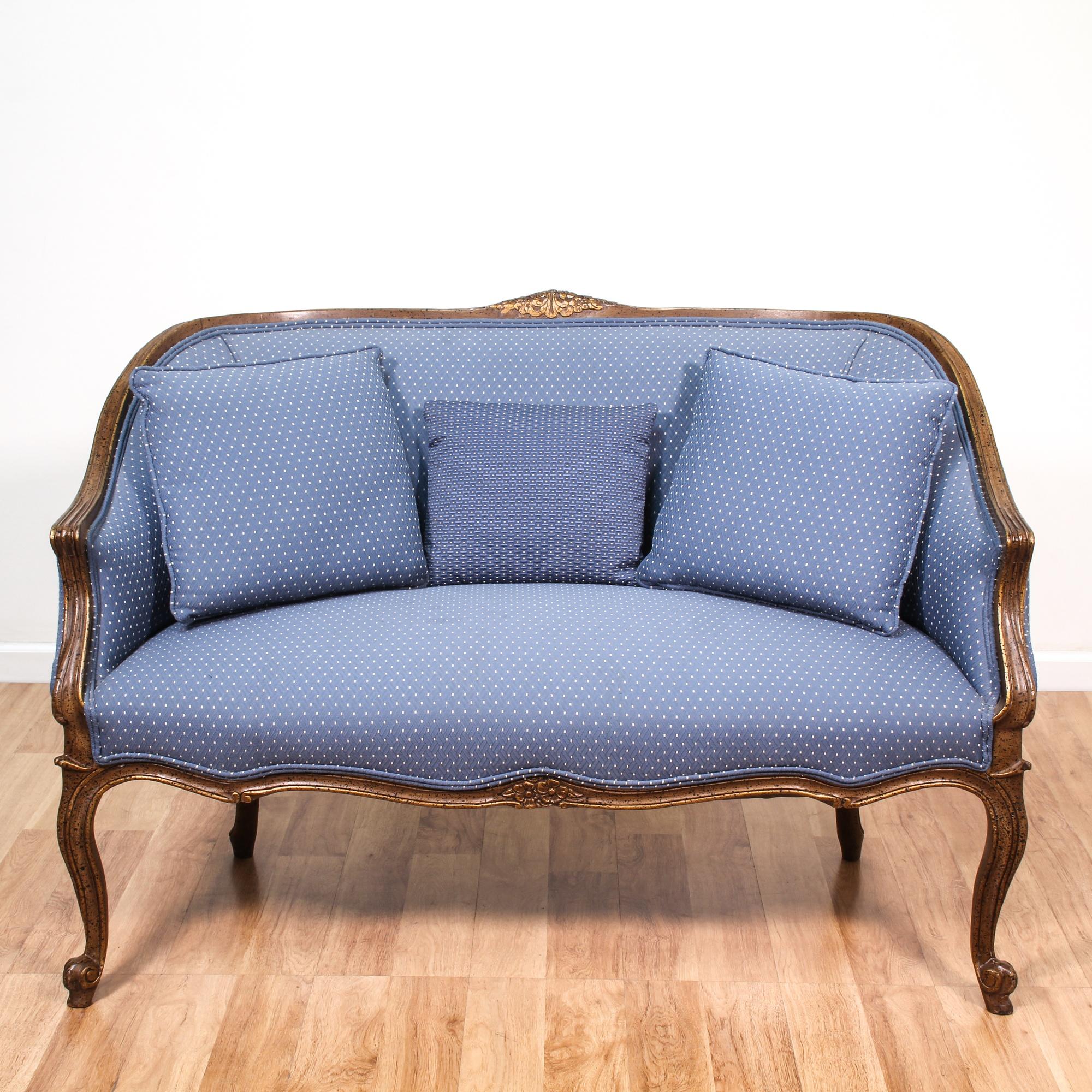 century studio miranda modern loveseat light petite grey baxton mid upholstered fabric