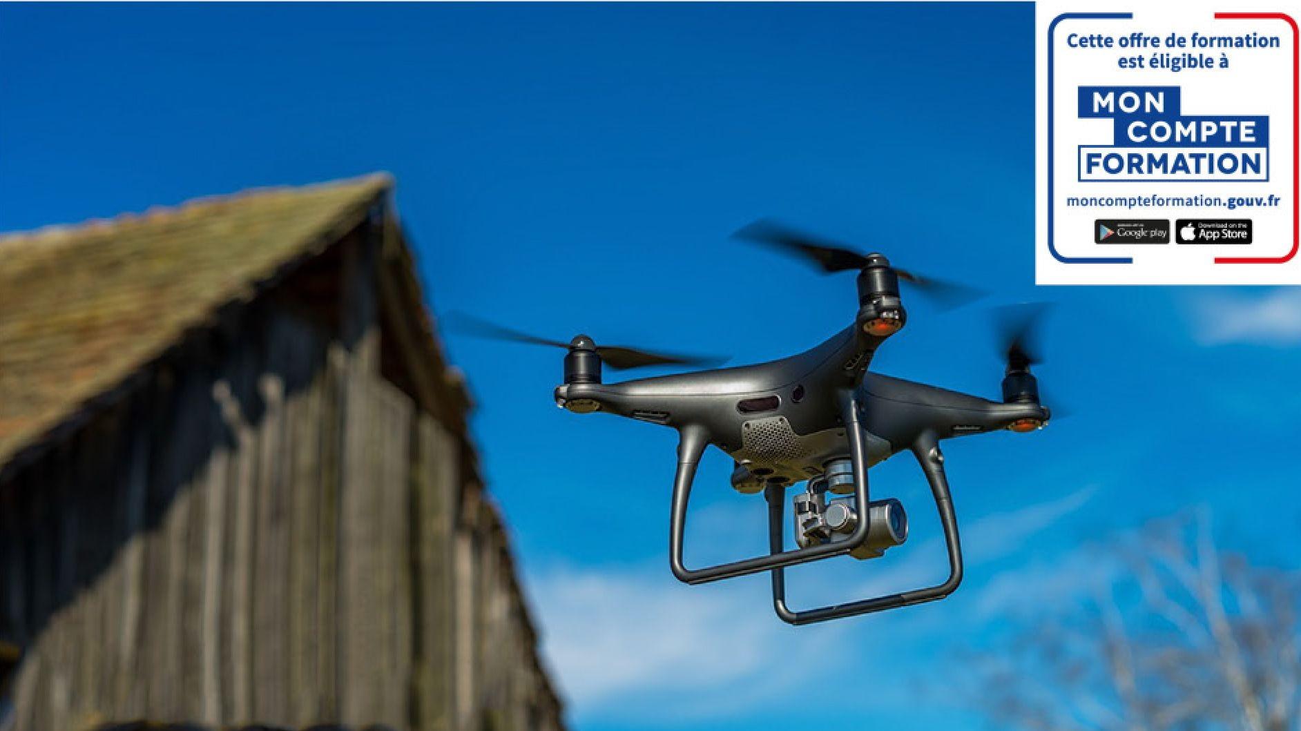 Représentation de la formation : Certification Télépilotage Drone Professionnel (Théorique : Présentiel)
