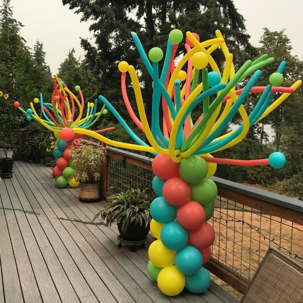 Balloon Pedestal Outdoor