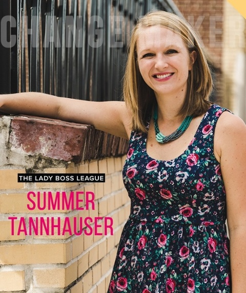 Summer Tannhauser of Lady Boss League is a bonafide Pinterest queen. After using Pinterest to grow a client list for her first business, she quickly realized the power the platform held and has even helped entrepreneurial superstars like Mariah Coz build their accounts from scratch.  Summer started out as an elementary school teacher before starting her business, and now she puts her teaching skills to use helping entrepreneurs grow their businesses by stepping up their Pinterest game.   Here's what she has to say...