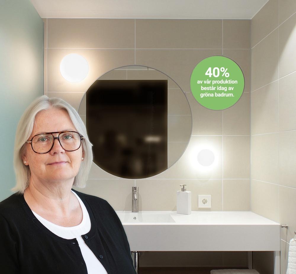 PARTs Kvalitets- & miljöchef, Irene Lindman