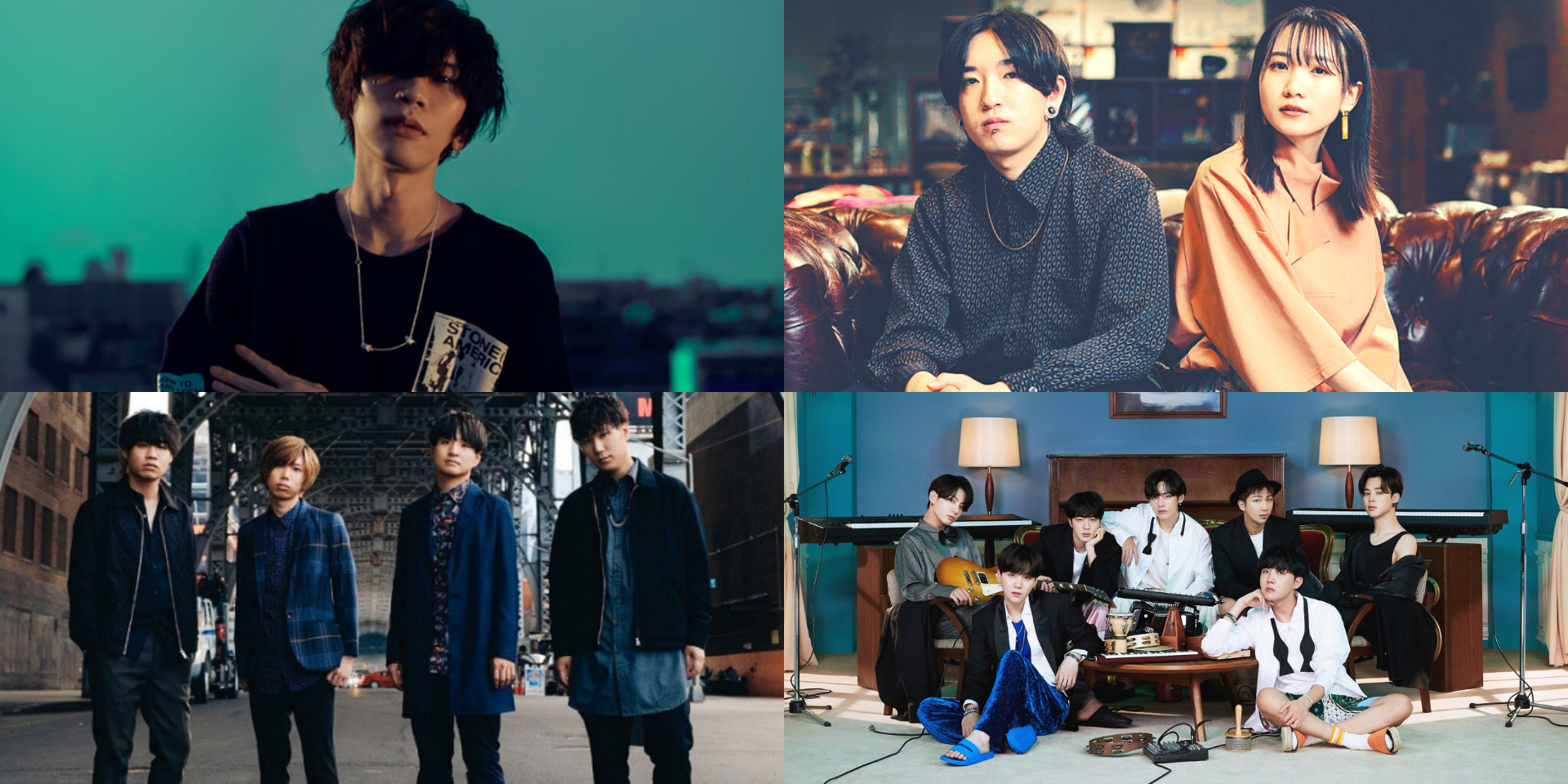 Official Hige Dandism, YOASOBI, Kenshi Yonezu, BTS, and more win at the 2021 SPACE SHOWER MUSIC AWARDS