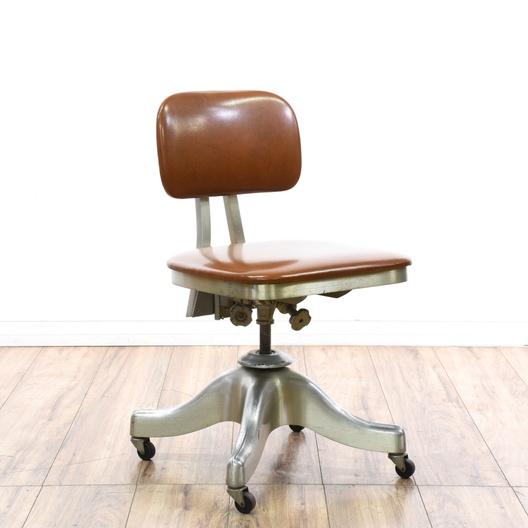 Shaw Walker Steel Tanker Style Desk Chair Loveseat Com San Diego