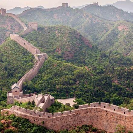 China, the Yangtze River & Hong Kong