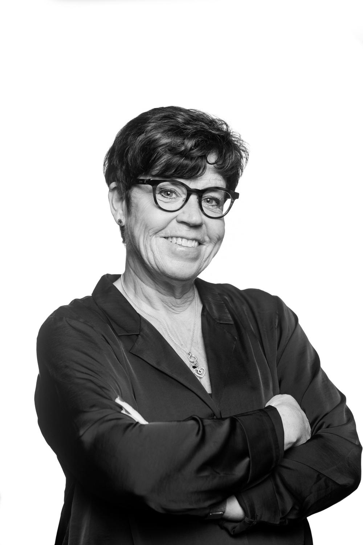 Monica Lindgren, producent på Nordiskt Berättarcentrum 2020. Foto: Patrick Degerman.