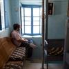 Interior 4, Stairs of (Aliyat) Rabbi Sassi, Djerba, Tunisa, Chrystie Sherman, 7/7/16
