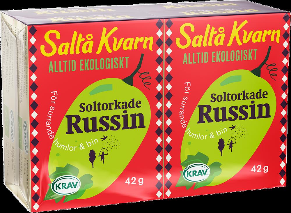 Russin 4x42g från Saltå Kvarn