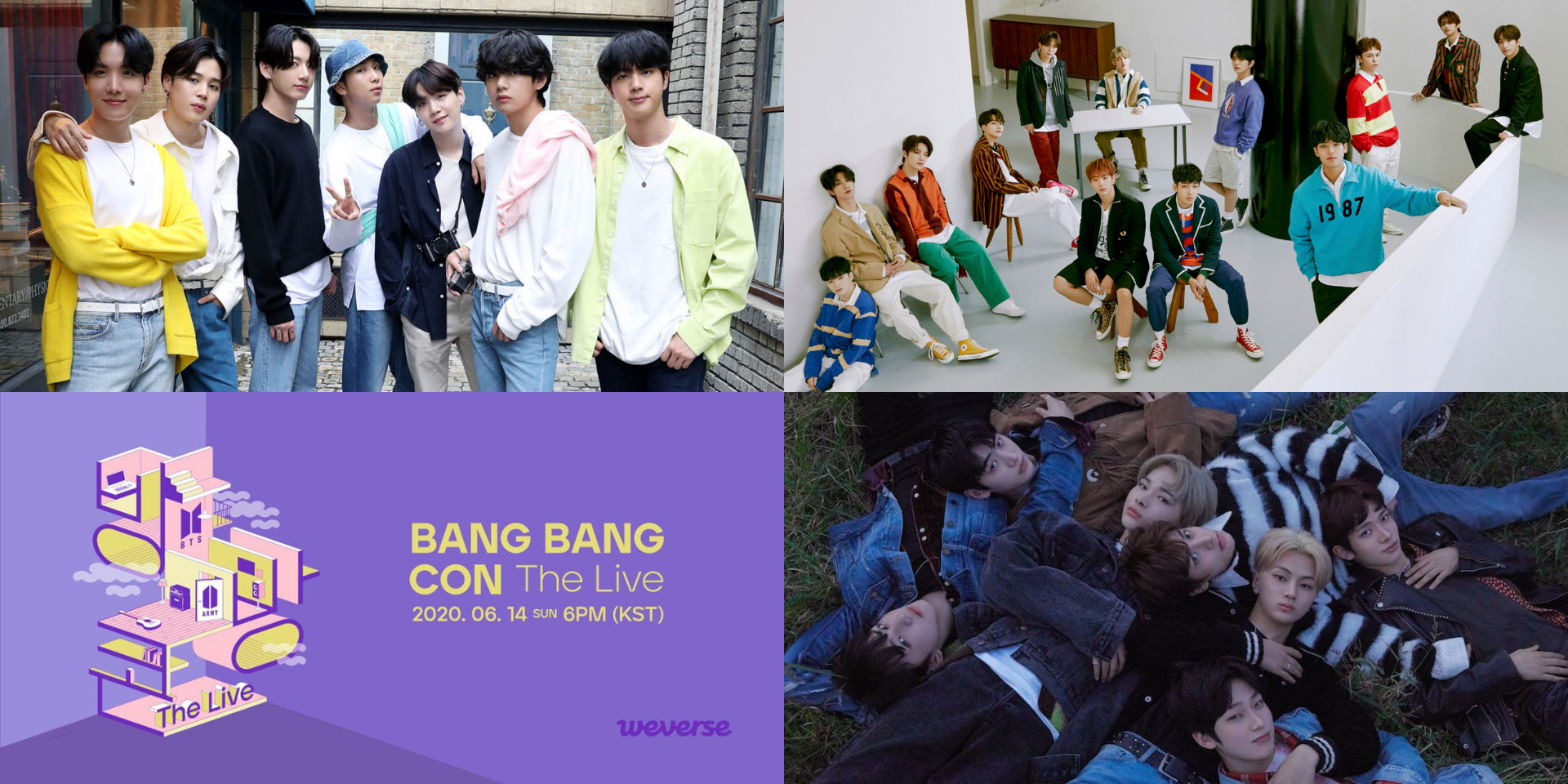 BTS, BANG BANG CON, ENHYPEN, and SEVENTEEN top Weverse fandom trends for 2020