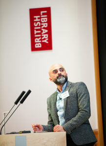 The Caterer Summit 2018 at The British Library. Shahid Rana from e-on.
