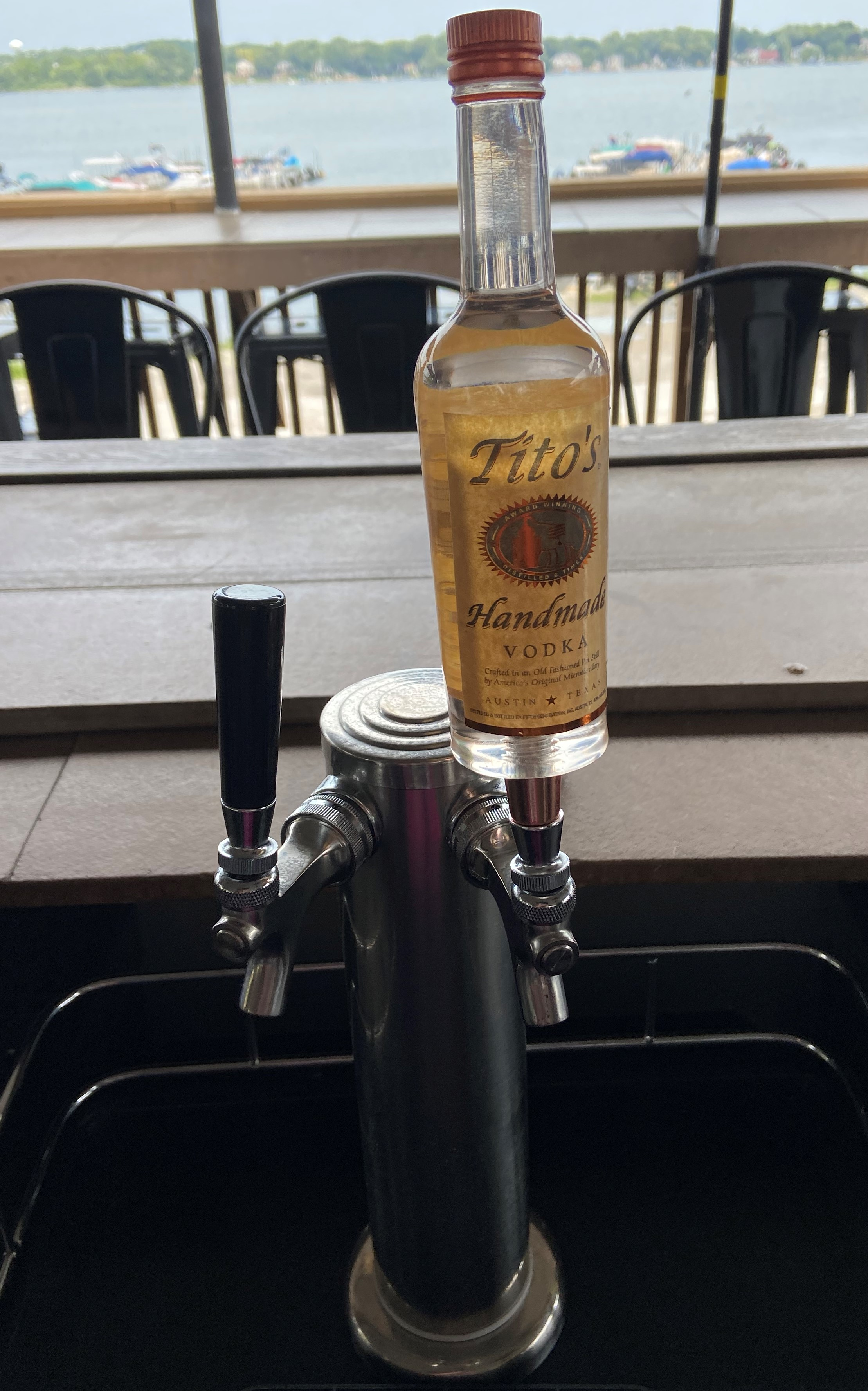 """NEW!  Tito's Vodka """"Kegorator"""""""