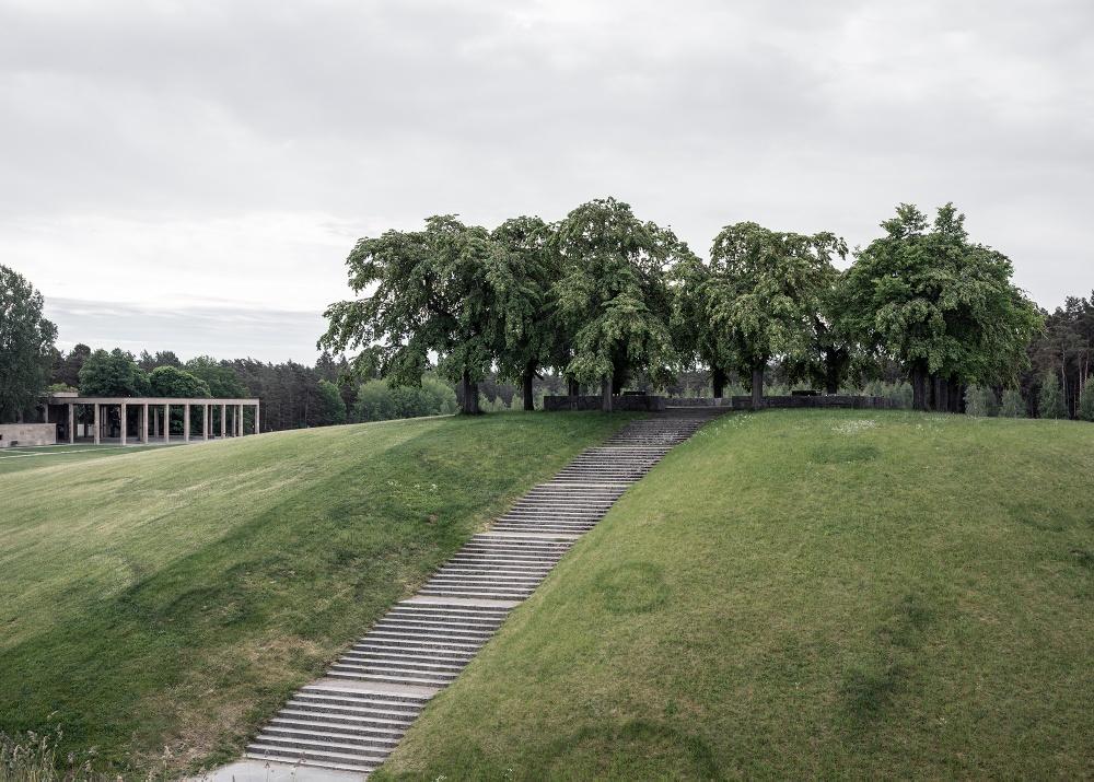 """""""Meditation grove Almhöjden. The Woodland Cemetery, Stockholm. Cred: Johan Dehlin.  """""""
